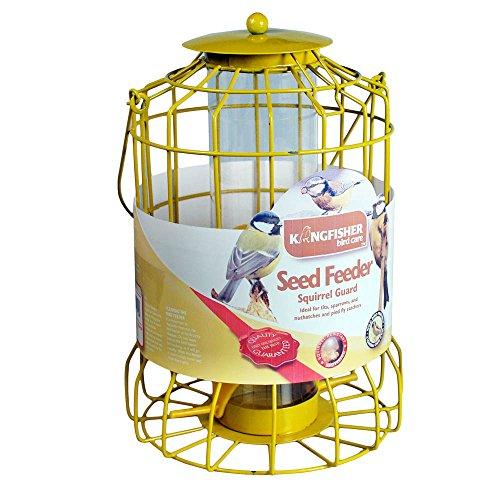 Galleria fotografica Kingfisher BF007S, Mangiatoia per uccelli con protezione anti-scoiattoli
