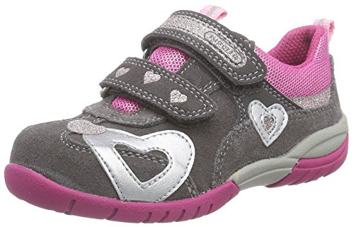 Superfit SPORT3 500135, Mädchen Sneakers, Grau (STONE KOMBI 06),  31 EU