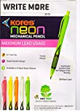 #9: Kores Neon Mechanical Pencil pack of 10