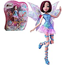 Winx Club - Mythix Fairy - Tecna Muñeca 28cm con cetro Mythix