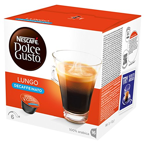 NESCAFÉ Dolce Gusto Lungo Decaffeinated, Pack of 3 (Total 48 Capsules, 48 servings) 51JukhiuBBL best coffee maker Best Coffee Maker 51JukhiuBBL