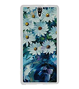 Flowers 2D Hard Polycarbonate Designer Back Case Cover for Sony Xperia C5 Ultra Dual :: Sony Xperia C5 E5533 E5563