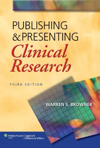 Publishing And Presenting 3Ed: Clinical Research (Pb 2013)