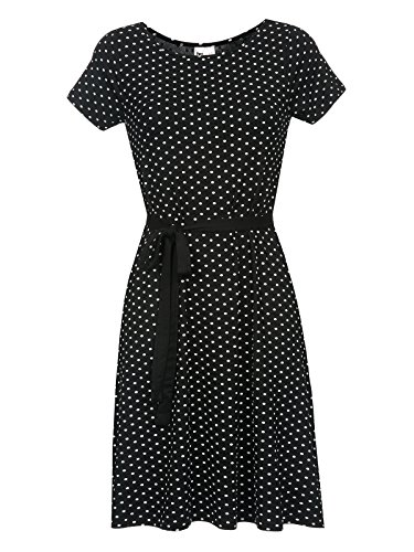 Pussy Deluxe Best Dotties Kleid schwarz L