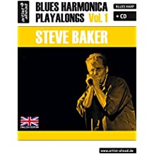 Blues Harmonica Playalongs: Vol.1 (incl. Audio-CD, English edition). Spielbuch für Blues Harp. Lehrbuch. Musiknoten.