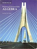 Math 95 & 96 Beginning & Intermediate Algebra (Custom for San Diego City College) by K. Elayn Martin-Gay (2005-08-01)