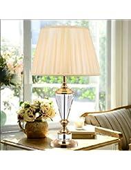 Einfache Hochzeit Tischlampe Schlafzimmer Nachttischlampe Wohnzimmerlampe K9 Kristalldekoration Ohne Lichtquelle