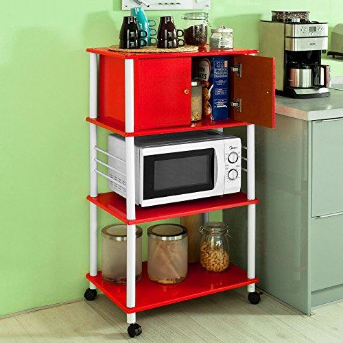SoBuy mensola per forno a microonde, Carrello da cucina, armadietto ...