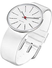 Rosendahl Unisex-Armbanduhr Analog Edelstahl weiss 43474