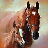 20 Servietten Pferd Fohlen Horse Foal Bauernhof Stute Pferdefamilie 33 x 33cm