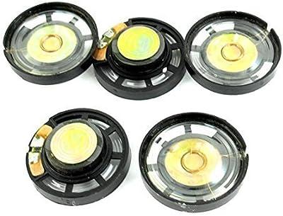 5 piezas 8 Ohm 0,25 W 29 mm cierre magnético Lautsprecher altavoz para juguete eléctrico