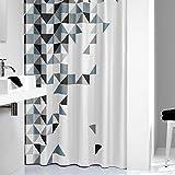 Sealskin 235231319 Duschvorhang Tangram, Textil B x H: 180 x 200 cm