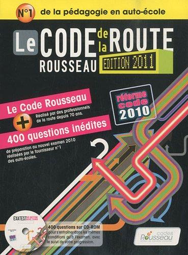 Code Rousseau de la route B 2011