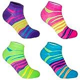 L&K-II-Lot de 12-paires Femme Sneaker chaussettes Bambou EDS92238
