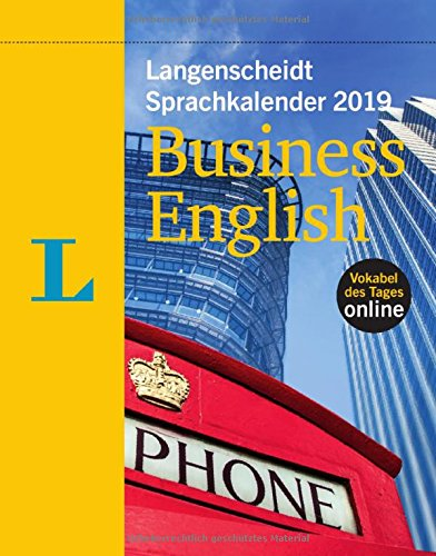 Langenscheidt Sprachkalender 2019 Business English - Abreißkalender