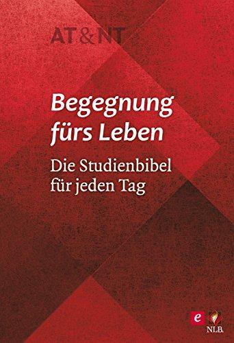 """Begegnung fürs Leben, Motiv """"Rhomboid"""": Die Studienbibel für jeden Tag"""