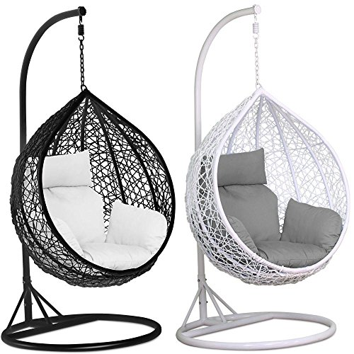 Tinkertonk Garden Patio Rattan Swing Chair Wicker Hanging Egg ...