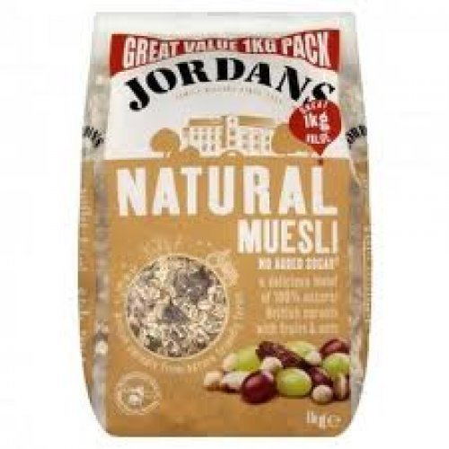 Jordans - Muesli Naturel (Lot de 4) 1000g