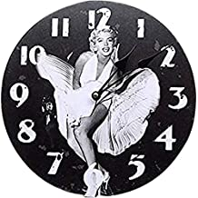 RELOJ DE PARED DISENO MARILYN MONROE DRESS RELOJ DE LA COCINA - 30CM - CUARZO - MODERNO NUEVO – Tinas Collection