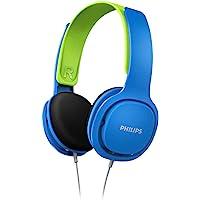 Philips Kinderkopfhörer SHK2000BL/00 Kinderkopfhörer On Ear (Lautstärkebegrenzung 85 db, Ergonomischer Bügel, 32-mm…