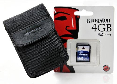 Vantage 2 Set mit 4 GB SD Karte für Canon Ixu.