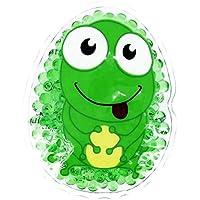 Preisvergleich für Kühlpad Wärmepad mehrfach Kompresse Kühlkissen Kinder wärmen kühlen Frosch