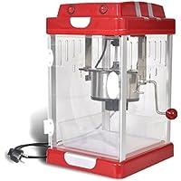 vidaXL Machine à pop corn pro professionnelle gourmand plaisir 3-5 minutes 2,5 OZ