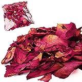 Bulk Pack of Natural Dried Rose Petals - Wedding Preserved Confetti Pot Pourri [50g]