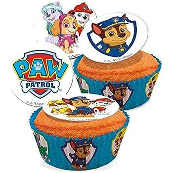 Paw Patrol 302048/Kit di Figurine Decorazione per Torta plastica Blu 3/x 5/x 9/cm