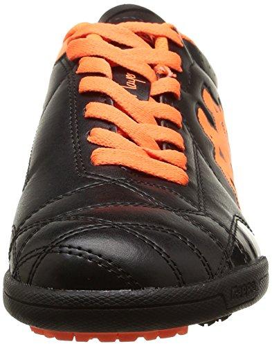 Kappa Player Tg Base, Football Entrainement homme Noir (Black/Orange Fluo)