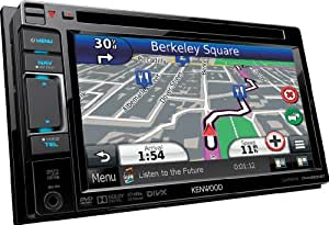 Kenwood DNX5230BT Navigationssystem ( 6.1 Zoll Display,starrer Monitor, 16:9,Kontinent )