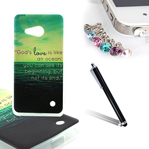 ANNNWZZD Soft TPU Case Tasche schutzhülle für Microsoft Lumia 550 Nokia N550 Cover / Case / Bumper Hülle Schutzhülle / Rückdeckel Schutzhülle / Handy Hülle / Ultra-thin soft shell,A07 A16