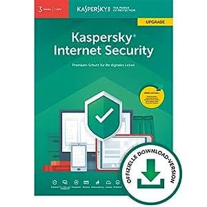 Kaspersky Internet Security 2019 Upgrade | 3 Geräte | 1 Jahr | Windows/Mac/Android | Online-Code | Download