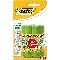 BIC ECOlutions Bâtons de Colle - 8g, Blister de 5