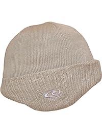 Men's Warm Fleece Lined Snug Thermal Knit Winter Hat with Ear Warmers