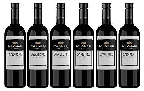 Folonari Cabernet Sauvignon 2015/2016 trocken Wein (6 x 0.75 l)