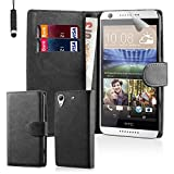32nd Book Wallet PU Leather Flip Case Cover For HTC Desire