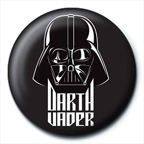 Preisvergleich Produktbild Star Wars - Darth Vader Black - Ansteck Button Ø2,5 cm
