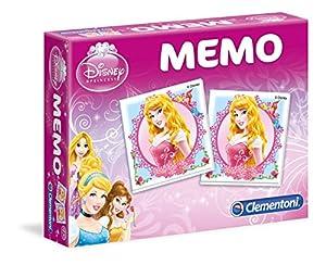 Clementoni 13401 - Juego educativo de memoria, diseño de princesas Disney