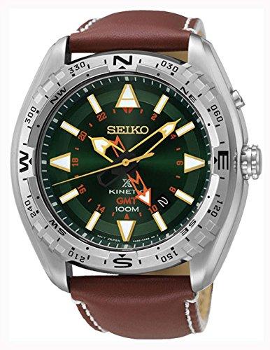Seiko-Prospex-Land-Kinetic-Mens-Watch-Analogue-Quartz-Leather-SUN0-51P1