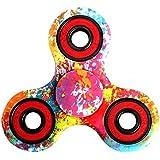 Hand Spinner Stress Relief Jouet,Tri-Spinner Fidget Toy Metal Bearing Focus Toy pour le temps de tuer