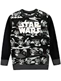 Star Wars Sudadera para niños Guerra de Las Galaxias Negro 8-9 Años
