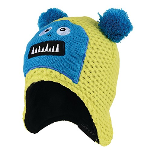 Dare 2b Boys Stage Show Character Fleece Lined Ear Warmer Beanie Hat (Ski-visier-beanie-mütze)