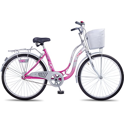 Hero Miss India 26T Jade Single Speed Girl Cycle (Pink)