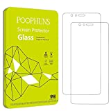 2 Pack Verre Trempé Huawei Honor 8, POOPHUNS Protection écran Huawei Honor 8, Ultra résistant, Dureté 9H, Film Protecteur écran pour Huawei Honor 8 - Anti Rayures, Sans bulles