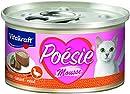 Vitakraft Poesie Mousse + Ente, 12er Pack (12 x 85 g)