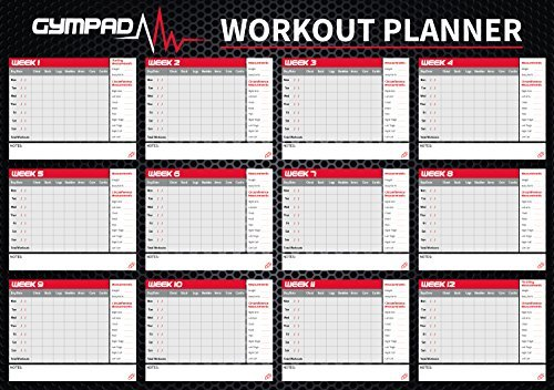 Gympad 12 Week – Fitness Planners