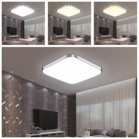 HG® 24W 3in1 LED Deckenleuchte Esszimmer Lampe Garderobe Farbwechsel Schlafzimmerleuchte 176V-264V