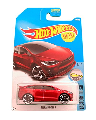 Hot Wheels Tesla Model X - Serie Factory Fresh 9/10 (Long Card)