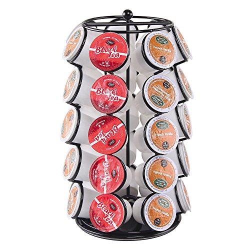 Ever Rich DOLCE GUSTO - Dispensador giratorio para cápsulas de café, 24 o 34 cápsulas, 35 (Black)